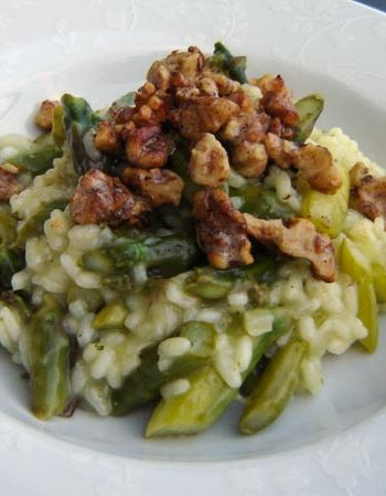 Risotto mit grünem Spargel - The Vegetarian Diaries