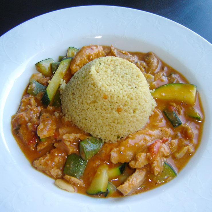 veganer afrikanischer Erdnusseintopf mit Sojafleisch - The Vegetarian Diaries
