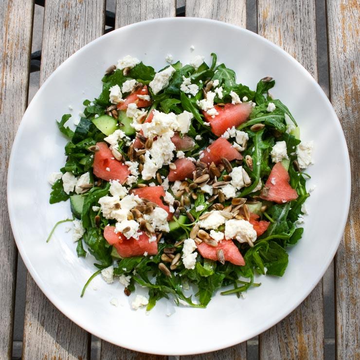 salat mit feta