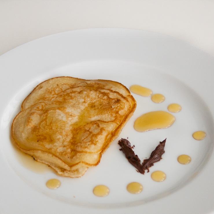 vegane Pancakes - The Vegetarian Diaries