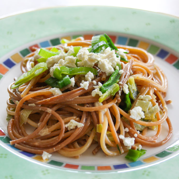 vegetarische Spaghetti Maillard - The Vegetarian Diaries