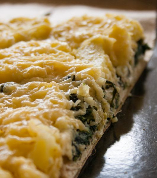 vegetarische Spinat-Kartoffel-Tarte - The Vegetarian Diaries