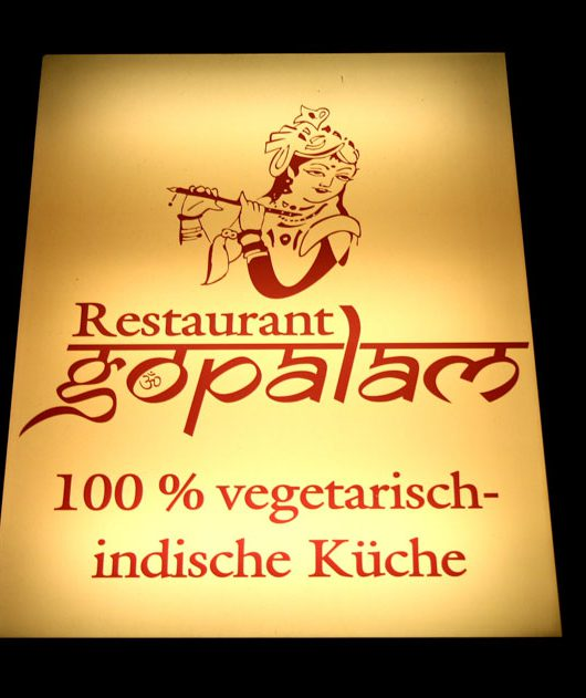 vegan essen im Restaurant Gopalam in Hamburg - The Vegetarian Diaries