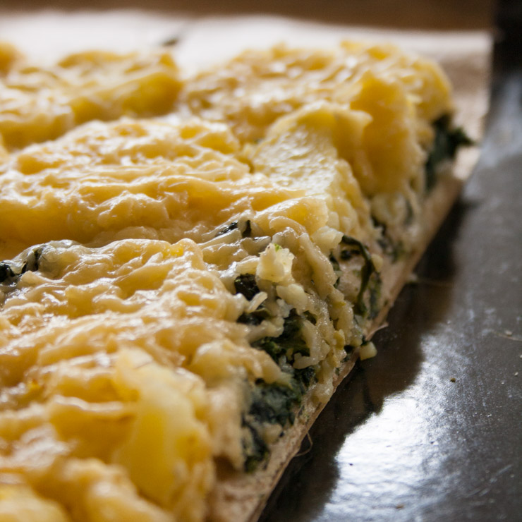 vegetarische Spinat-Kartoffel-Tarte - The Vegetarian Diaries