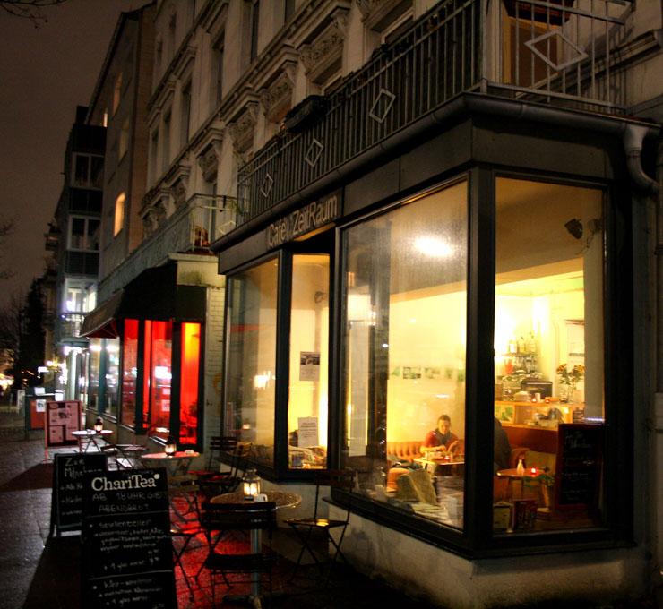 Cafe Zeitraum Hamburg - The Vegetarian Diaries