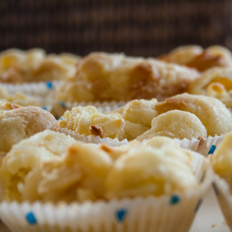 Crumble Muffins mit Birne - The Vegetarian Diaries