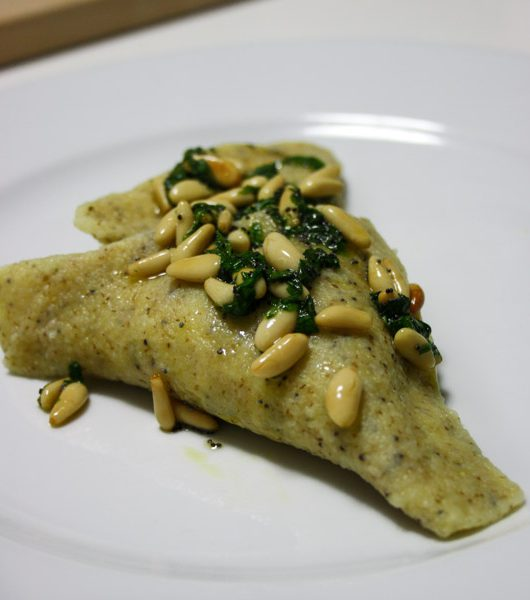 Kartoffel-Ravioli mit Mohn-Butter - The Vegetarian Diaries