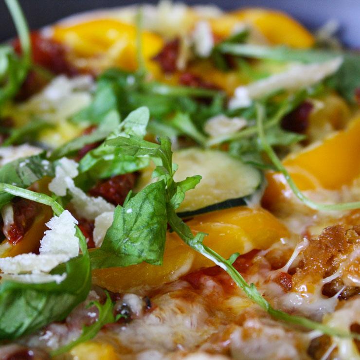 vegetarische Pizza mit Thunfisch - The Vegetarian Diaries