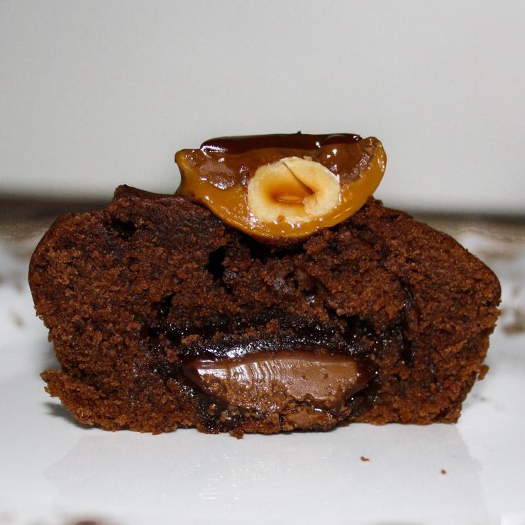 Toffifee Muffins - The Vegetarian Diaries