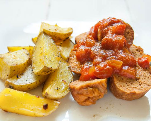 vegane Currywurst - The Vegetarian Diaries