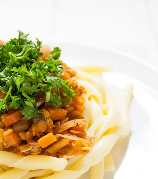 vegane Linsenbolognese - The Vegetarian Diaries