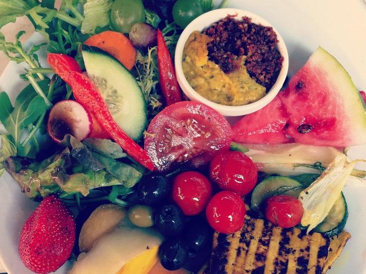 Cafe Latte Hamburg - The Vegetarian Diaries