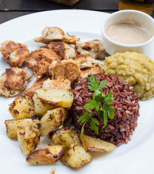 Saveurs VegetHalles - Hauptspeise - The Vegetarian Diaries
