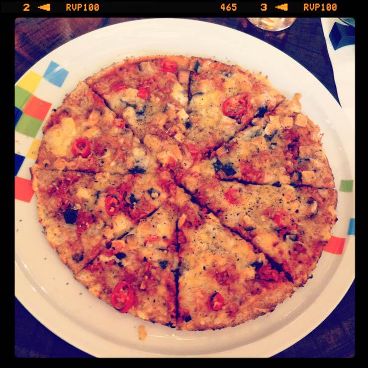 vegane Pizzen - Zodiac Essen - The Vegetarian Diaries