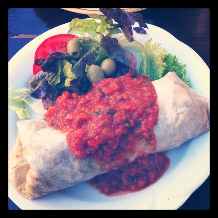 veganes Essen in der Kombüse Mannheim - The Vegetarian Diaries