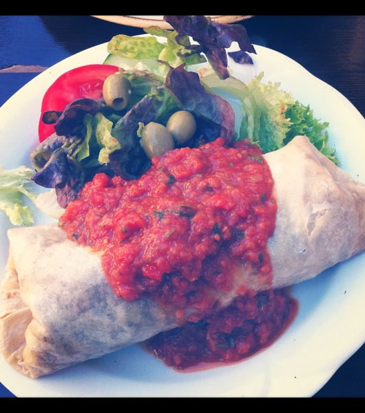 veganes Food in der Kombüse Mannheim - The Vegetarian Diaries
