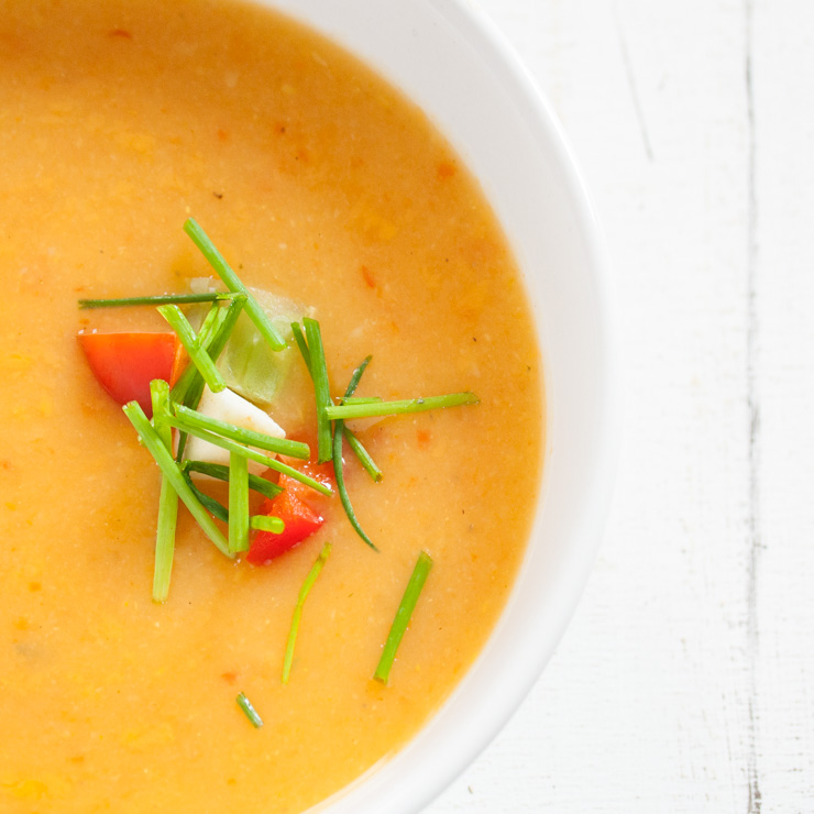 Pastinaken-Ingwer-Suppe - The Vegetarian Diaries