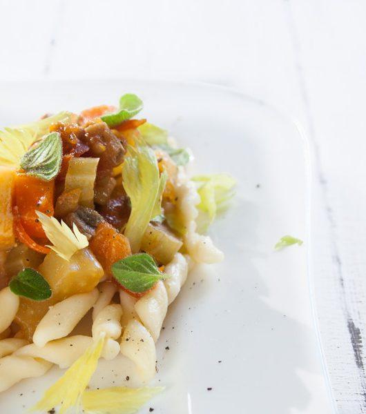 Pilz-Bolo mit Strozzapreti-Pasta -The Vegetarian Diaries