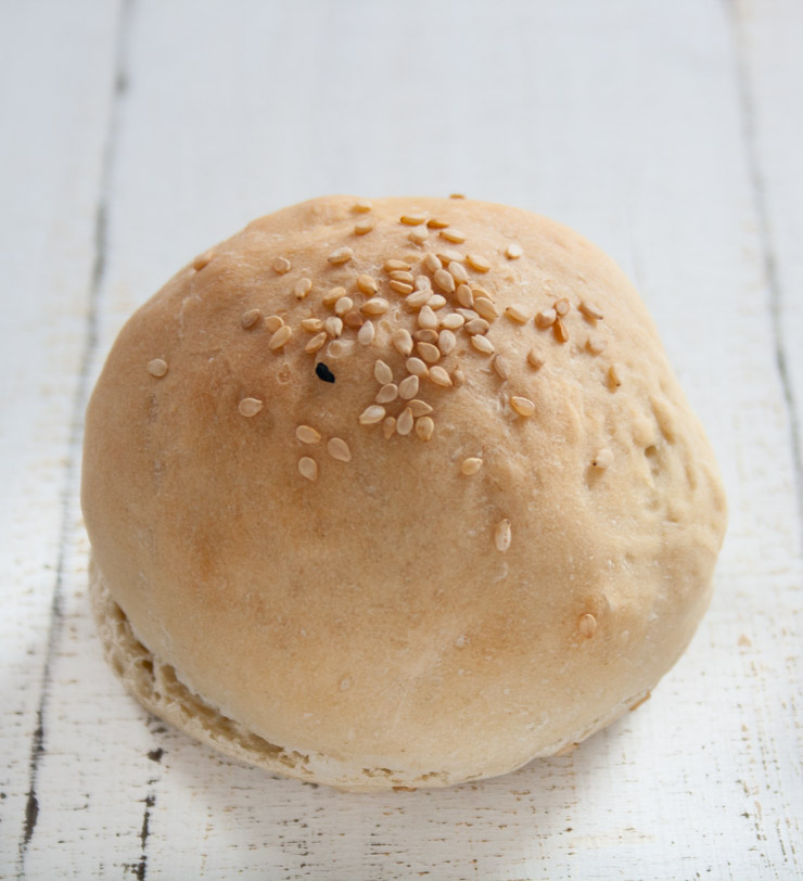 Burger-Brötchen mit Astra - The Vegetarian Diaries