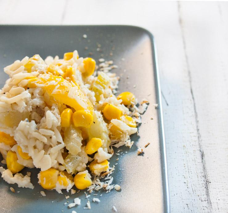 Paprika-Mais-Kokosmilch-Pilaw - The Vegetarian Diaries