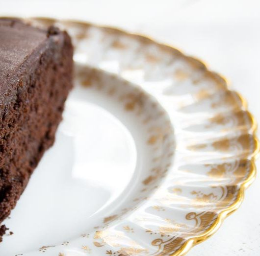 veganer Schoko-Kurchen Sacher Art - Rezept - The Vegetarian Diaries