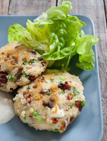 Couccous-Fritters - The Vegetarian Diaries - The Vegetarian Diaries