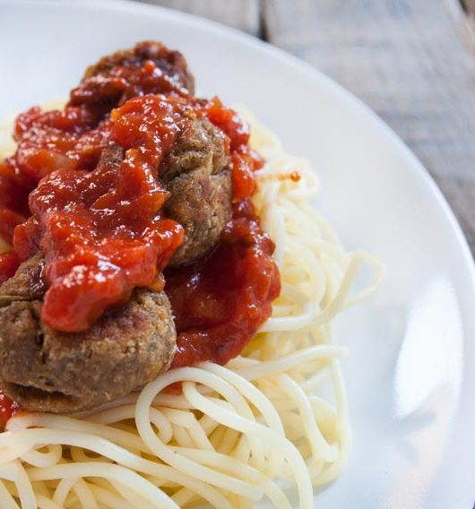 Meatballs mit Spaghetti - The Vegetarian Diaries