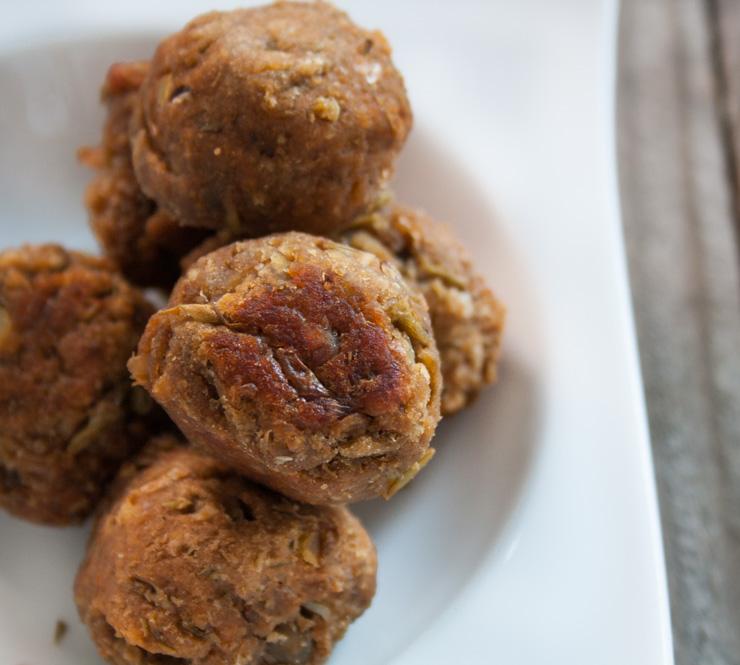 vegane Meatballs - The Vegetarian Diaries