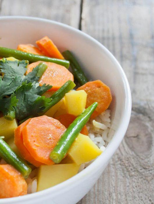 Thai-Curry mit Kokosmilch - The Vegetarian Diaries