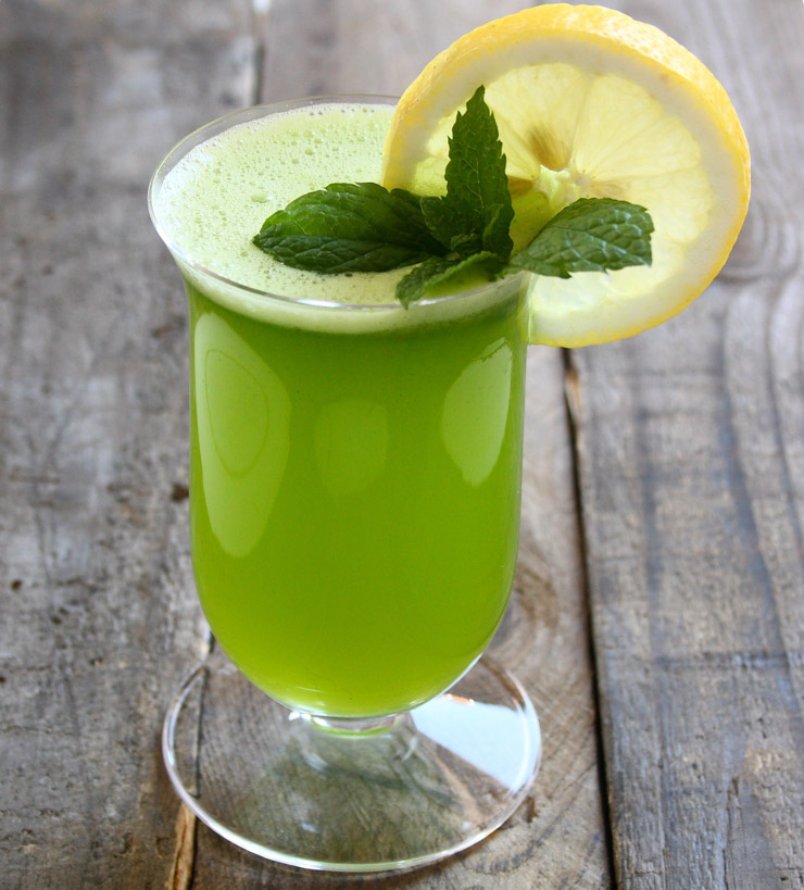 israelische Minz-Limonade - The Vegetarian Diaries