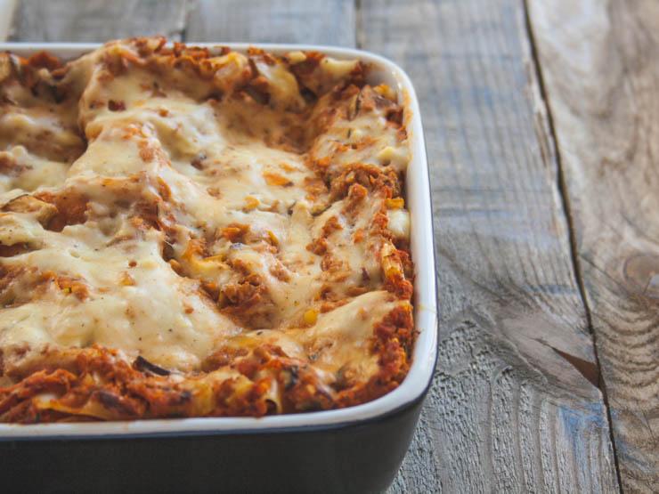 DIE beste und leckerste vegane Lasagne - The Vegetarian Diaries