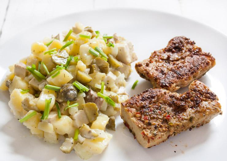 Der beste vegane Kartoffelsalat - The Vegetarian Diaries
