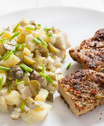bester veganer Kartoffelsalat - The Vegetarian Diaries