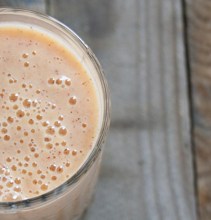 Orangen-Kiwi Smoothie - The Vegetarian Diaries