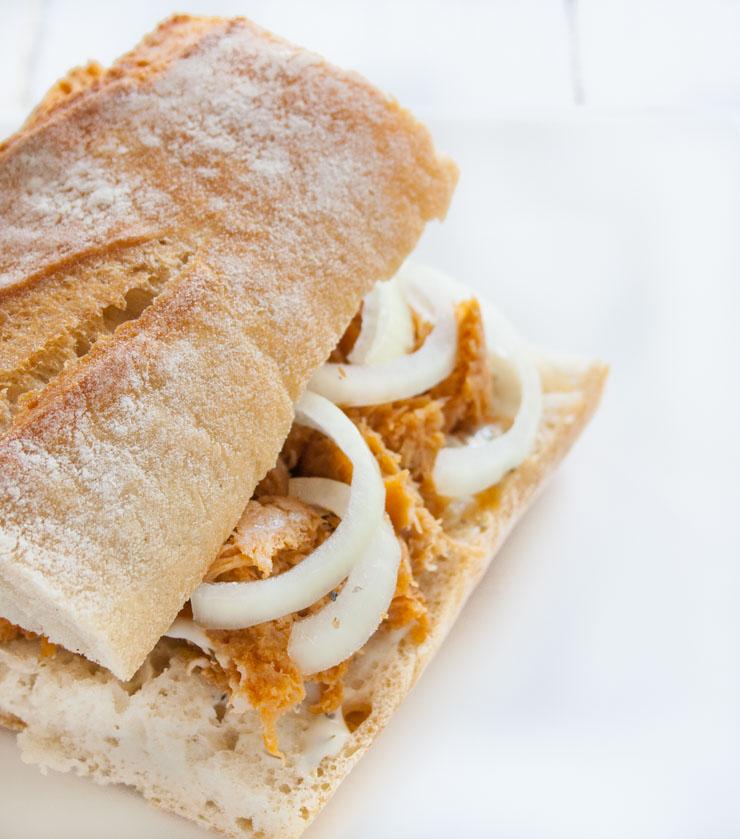 veganes Thunfisch-Sandwich - The Vegetarian Diaries