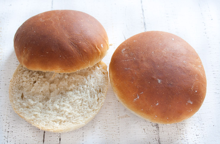 Die perfekten Burger Buns - The Vegetarian Diaries