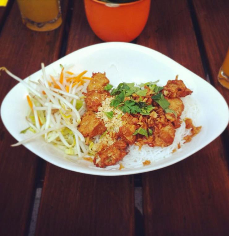 vegan essen im Dudu München - The Vegetarian Diaries