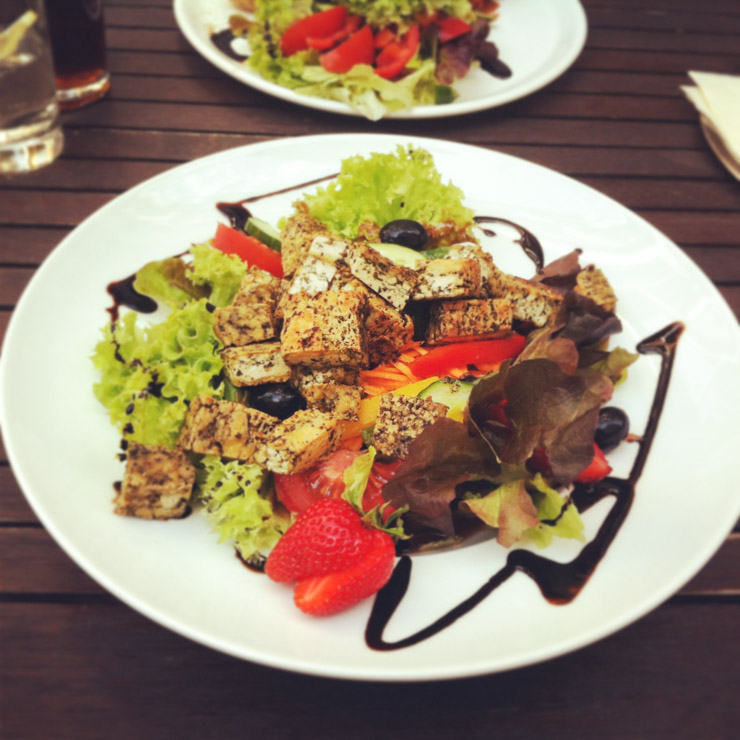 vegan essen in Koblenz - Cafe Milijöö