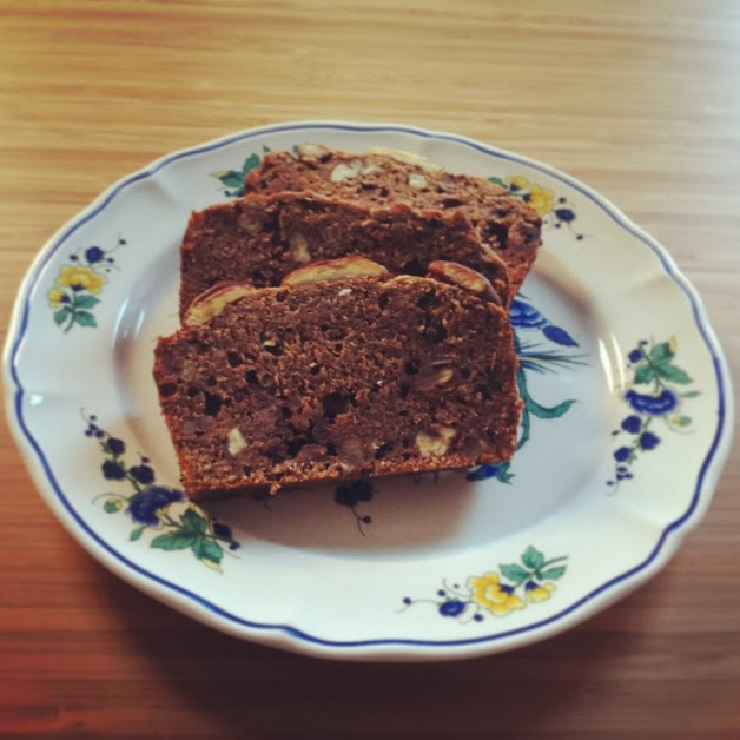 Bananenbrot mit Pekannüssen - The Vegetarian Diaries