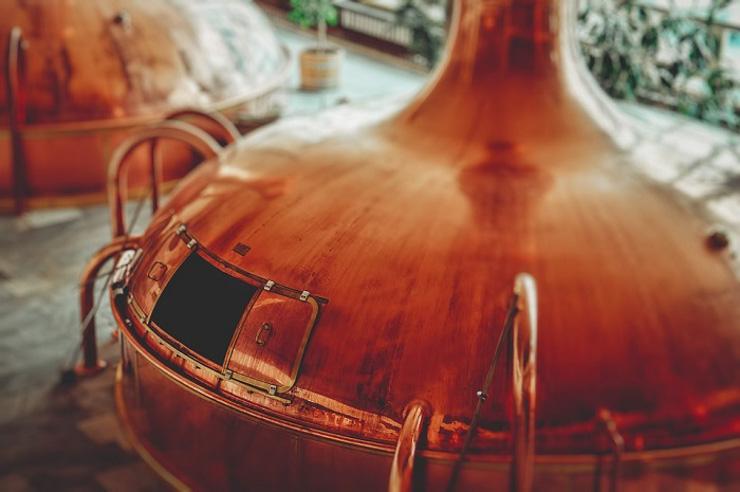 Braukessel zur Herstellung von Bier - The Vegetarian Diaries - Bier vegan
