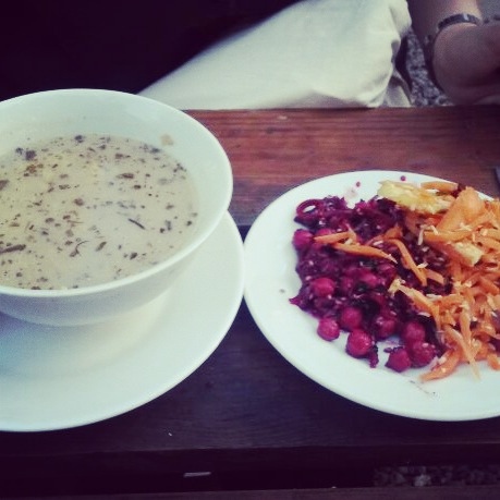 vegan essen in Christiania - The Vegetarian Diaries
