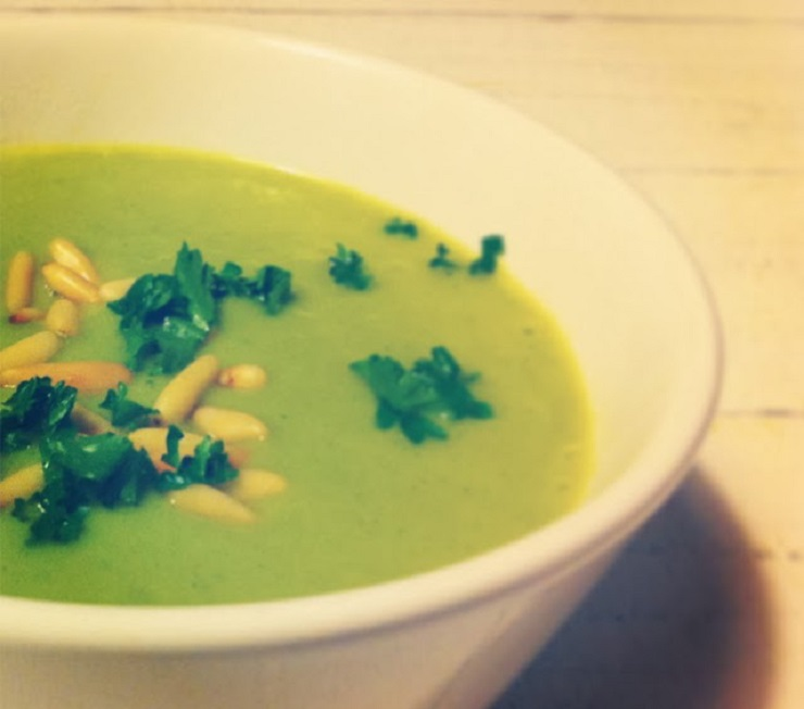 15 Minuten Brokkolisuppe - The Vegetarian Diaries