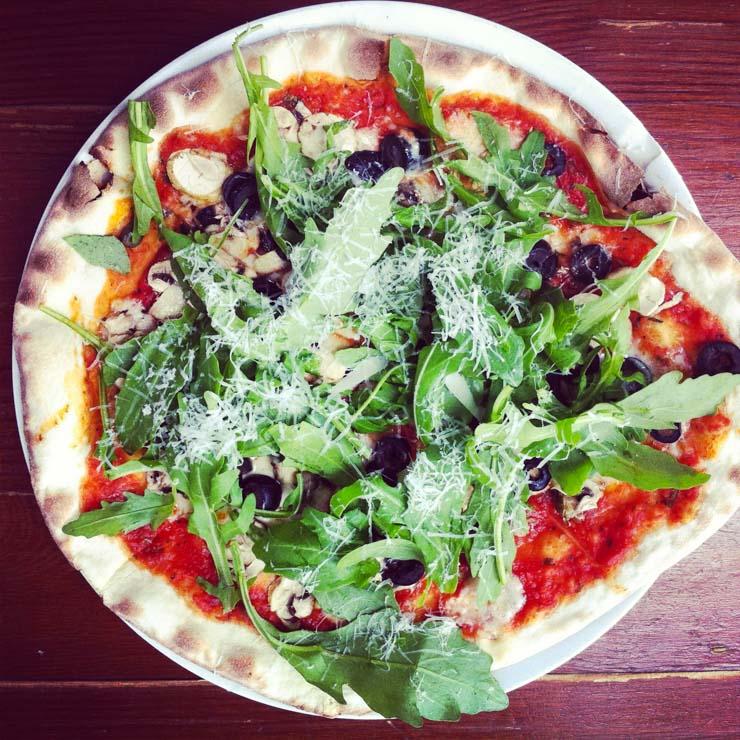 Pizzen bei Slim Jims Hamburg - The Vegetarian Diaries