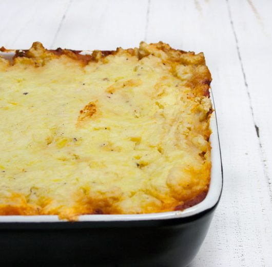Rezept - veganer Shepherd's Pie - The Vegetarian Diaries
