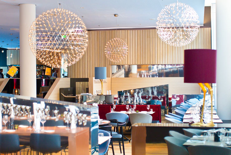 Scandic Hamburg Emporio Restaurant H2O - The Vegetarian Diaries