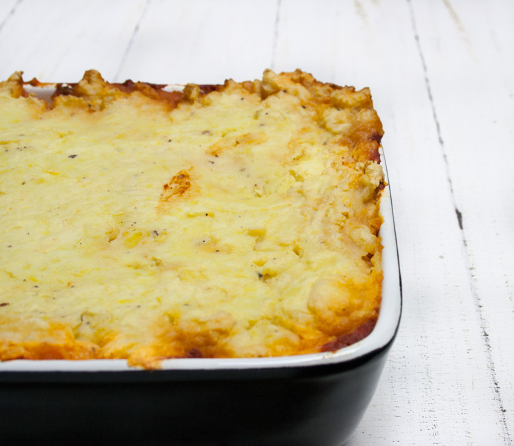 veganer Shepherd's Pie - The Vegetarian Diaries