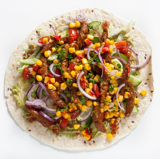 vegane Burritos mit Soja-Sticks - The Vegetarian Diaries