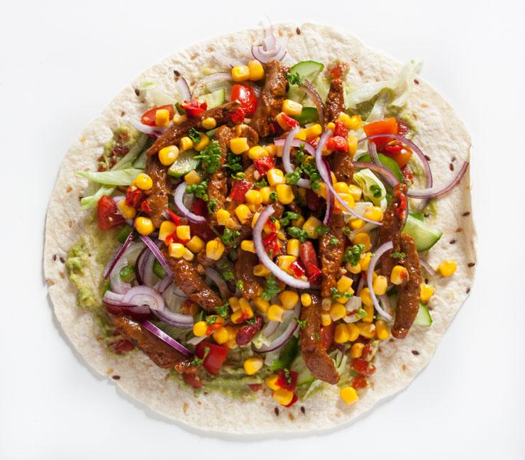 vegane Burritos mit Soja - The Vegetarian Diaries