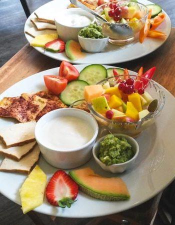 vegan frühstücken in Ottensen - Café Frieda am Park