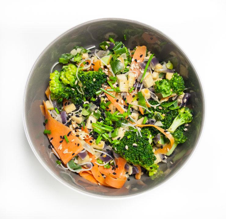 veganes Pad Thai - The Vegetarian Diaries